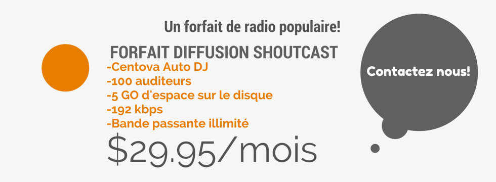 Forfait radio populaire
