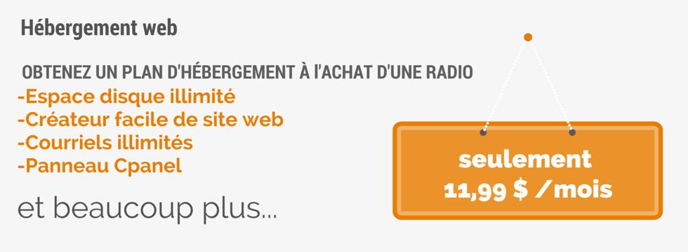 SPÉCIAL: Hébergement Web & Plan SHOUTcast avec AutoDJ
