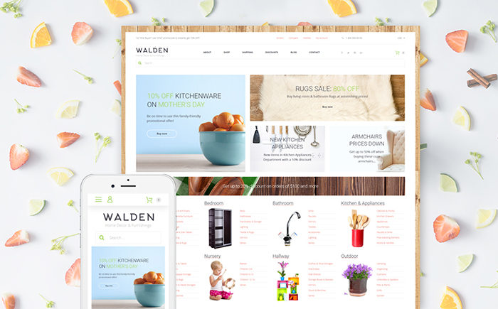 Furnishing Online Supermarket WooCommerce Theme