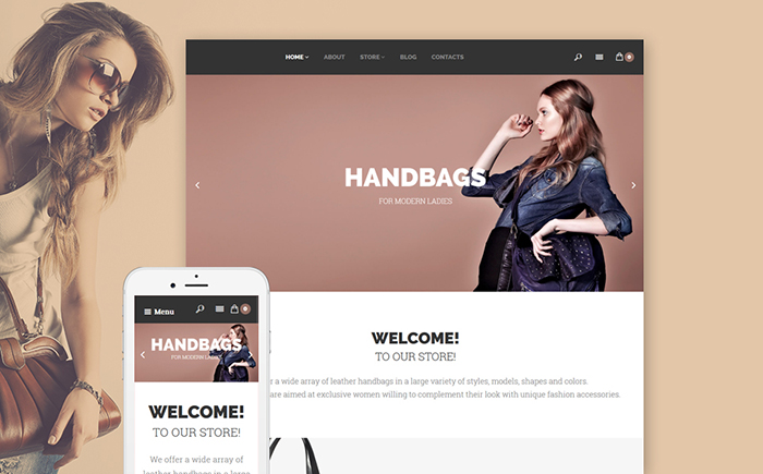 Handbags WooCommerce Template