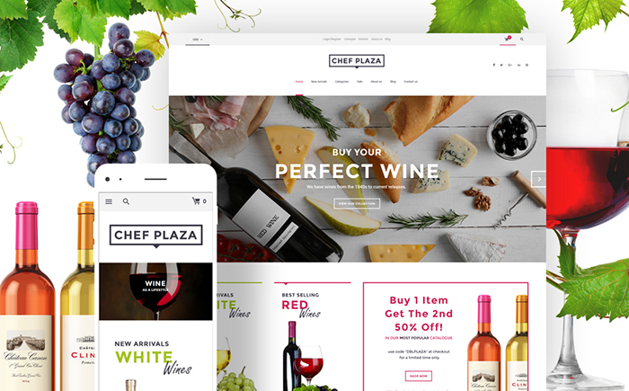 Wine Bar WooCommerce Theme