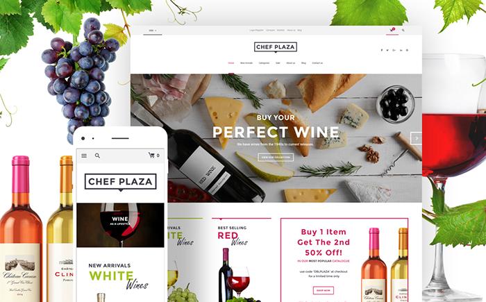 Wine Bar WooCommerce Theme