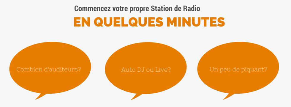 Commencez votre propre Station de Radio