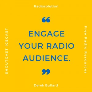 engage radio audience