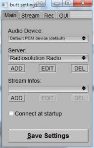 How to Broadcast to SHOUTcast Live from a MAC
